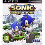 Ps3 - Sonic Generations - Míd Fís - Lacrado - Original