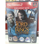 The Lord Of The Rings Two Towers - Playstation 2 Original