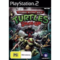 Jogo Ps2 - Teenage Mutant Ninja Turtles Smash Up