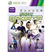 Jogo Kinect Sports Para Xbox 360 Novo Lacrado