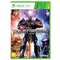 Transformers - Rise Of The Dark Spark Xbox 360 Semi Novo
