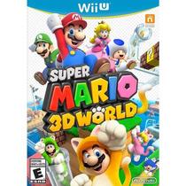 Super Mario 3d World - Nintendo Wii U - Novo Lacrado