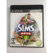 Jogo The Sims 3 Pet Para Ps3 /semi Novo/ Barato!!!!