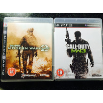 Call Of Duty Mw2 E Mw3 - Ps3 - Original