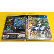 Jogo The Shoot Para Ps3 Usado Mídia Blu-ray Game Original Ml