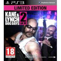 Jogo Ps3 Kane & Lynch 2 Dog Days Limited E. Original Lacrado