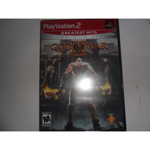 Jogo God Of War 2 Original Lacrado 2 Discos Ps2 Playstation2