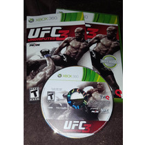 Ufc Undisputed 3 - Xbox 360 - Jogo Original