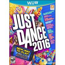 Just Dance 2016 Nintendo Wii U - Mídia Física Original