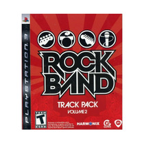 Jogo Ps3 Rock Band Track Pack Volume 2 Original E Lacrado