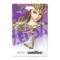 Amiibo Princesa Zelda Super Smash Bros New Nintendo 3ds Wiiu