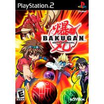 Jogo Bakugan Battle Brawlers Original Playstation 2 A6750