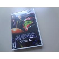 Nintendo Wii - Metroid Other M Original Americano Completo