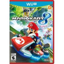 Jogo Mario Kart 8 Wii U Nintendo Lacrado Original