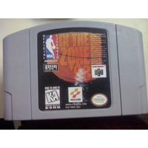 Fita De N64 In The Zone 98 Nba Nintendo