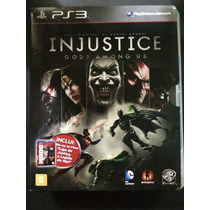 Injustice Gods Among Us Ps3 Grátis Blue-ray Liga Da Justiça