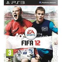 Jogo Lacrado Fifa Soccer 12 Para Ps3 Novo Frete Grátis!