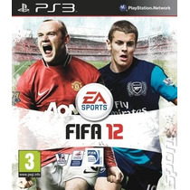 Jogo Fifa Soccer 12 Para Ps3 Mídia Física Lacrado Novo