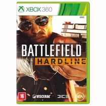 Game Battlefield Hardline Br - Xbox360 Midia Fisica