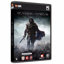 Terra Media: Sombras De Mordor - Pc Dvd - Original E Lacrado
