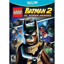 Lego Batman 2 - Nintendo Wii U - Novo Lacrado
