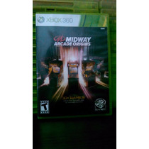 Midway Arcade Origins Semi-novo Xbox 360
