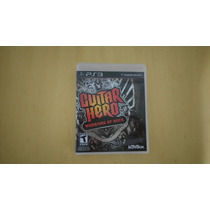 Guitar Hero Warriors Of Rock Ps3 Como Novo