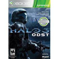 Halo 3 Odst Xbox 360 Jogo Original Lacrado Todo Em Português