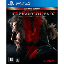Novo Jogo Metal Gear The Phantom Pain Ps4 Original E Lacrado
