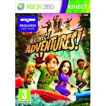 Kinect Adventures Xbox 360 Original Lacrado Em Português