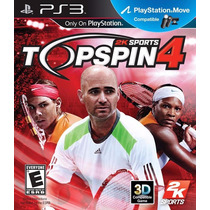Jogo Topspin 4 Ps 3