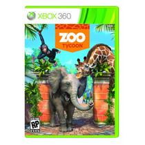 Jogo Novo Lacrado Zoo Tycoon Todo Em Português Para Xbox 360