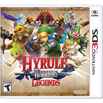 Zelda Hyrule Warriors Legends 3ds Mídia Física