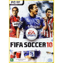 Jogo Fifa Soccer 10 Original E Lacrado Para Windows Pc A6588