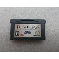 Gba: Riviera The Promised Land Rpg Original Americano! Raro!