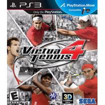 Jogo Ps3 Virtua Tennis 4 Original E Lacrado
