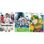 Jogo Fifa Soccer 11 + Pes 2012 + Chaves - Nintendo Wii