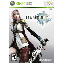 Final Fantasy Xiii Usado Ntsc Xbox 360