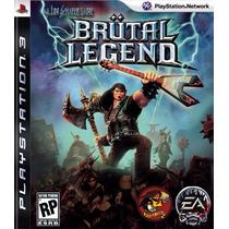 Brutal Legends - Ps3 - M Física ( Original E Lacrado )
