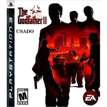 The Godfather Ii Ps3 Mídia Física