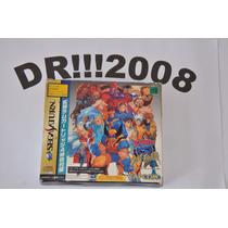 Caixa X-men Vs Street Fighter Original P/ Sega Saturno!!!