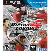 Virtua Tennis 4 Ps3 Novo Lacrado Leia O Anúncio
