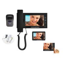 Vídeo Porteiro Eletrônico Interfone Com Lcd 7 Touch + Visão