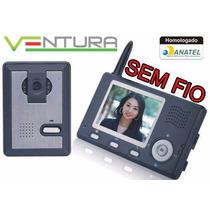 Video Porteiro Wireless Sem Fio Interfone Abertura De Portão