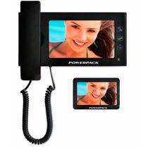 Vídeo Porteiro Eletrônico Tela 7 Polegadas Interfone Slim