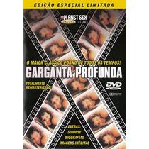 Dvd Garganta Profunda - Novo, Lacrado E 100% Original