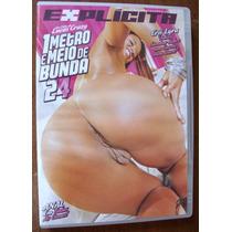 Dvd Pornô Sexo Explícito Anal Brasileiro Bundas Gigantes
