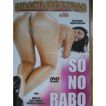 Dvd Só No Rabo Brasileirinhas