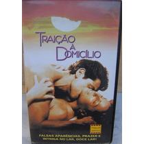 Vhs Raro - Traição À Domicílio - Thriller Erótico