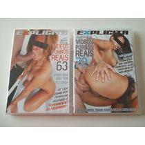Explícita - Dvds - Vídeos Pornôs Reais - 63 E 72 - Novos!!!!